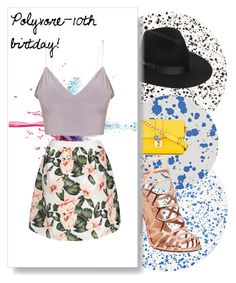 """""""Polyvore-10th birtday!"""" by faayker on Polyvore featuring mode, Tisch New York, Lack of Color, Madden Girl, Dolce&Gabbana en Givenchy"""