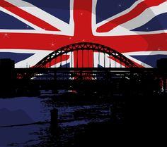 England, Union Jack, Flag, Bridge, United Kingdom #england, #unionjack, #flag, #bridge, #unitedkingdom