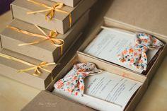 Приглашение с галстуком бабочкой