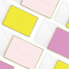 oversized foil greeting cards