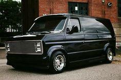 Custom VANS natural BABES & other bad ass transportation. Chevrolet Van, Chevy Van, Old School Vans, Dodge Van, 4x4 Van, Vanz, Ad Car, Vintage Vans, Custom Vans