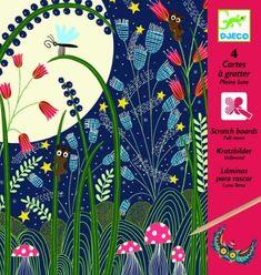 Carte à Gratter Djeco Pleine Lune - Kit Créatif - Achat & prix   Soldes fnac