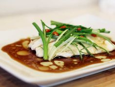 Chinese Style Steamed Fish | Collection of Healthy | Best Cooking Recipes