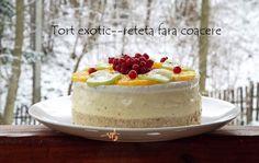 Tort exotic--reteta fara coacere (video)