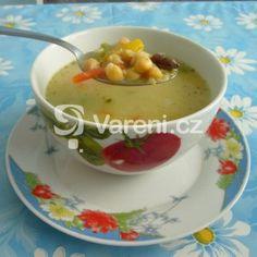 Skvělá cizrnová polévka recept - Vareni.cz Cheeseburger Chowder, Soup, Pudding, Ethnic Recipes, Desserts, Bulgur, Tailgate Desserts, Postres, Deserts