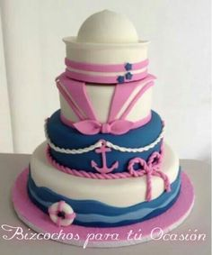 Nautical cake girl