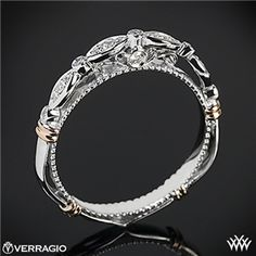 Verragio Scalloped Diamond Wedding Ring