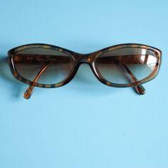 30d599a0165 Paloma Picasso 90s Designer Vintage Sunglasses   Retro Tortoise Shell  Glasses Frame   90s Sunglasses