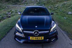 Niets mis met de Mercedes-AMG CLA 45 Coupé toch? Foto Thom van der Noord.