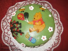lekkere #Verjaardagstaart #Winnie the pooh