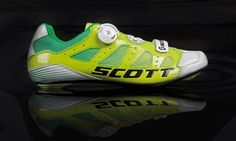 Scott Sports has introduced their new Premium Road Shoe for Team ORICA-GreenEDGE, which is likely to wear them at the Tour de France this summer. The designer Luke Fryer has made a few modifications based on the feedback from cyclists. Improved BOA lacing system, a stronger and taller anatomic heel counter, a three dimensional tongue from molded stiffener and cushion for more comfort and bigger ribs for better hold are some modifications in the new Premium Road Shoe.
