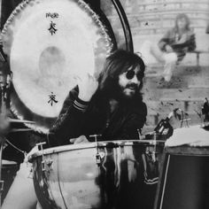 """""""I've wanted to be a drummer since I was about five years old. I used to play on a bath salt container with wires on the bottom, and on a round coffee tin with a loose wire fixed to it to give a snare drum effect. Plus there were always my Mum's pots and pans. When I was ten, my Mum bought me a snare drum. My Dad bought me my first full drum kit when I was 15. It was almost prehistoric. Most of it was rust."""" — John """"Bonzo"""" Bonham"""