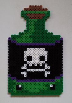 Week 21, Day 146, Spell. 365 Day Perler Bead Challenge.