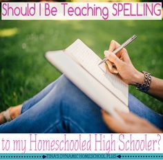 """Should I be Teaching Spelling to my Homeschooled High Schooler? Now that two of my sons have graduated, I have tweaked my thinking about spelling several times throughout the years and want to share a few tidbits of my experience.  I have been asked, """"Should I be teaching spelling to my homeschooled high schooler?"""" Well, it depends.