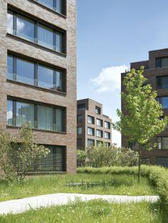 Luca Selva Architekten (Basel) : Densa-Areal: 99 Wohnungen für Basel-Nord (CH), 2008-12