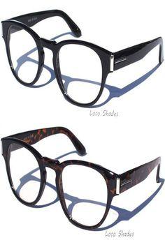 5.50   RETRO FRAME CLEAR LENS EYE GLASSES Hipster Nerd Geek Fashion Design  ❤   4e73193f52ce