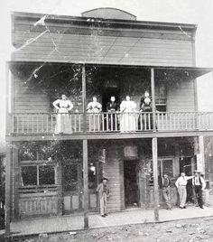 Old west brothel, Jerome AZ