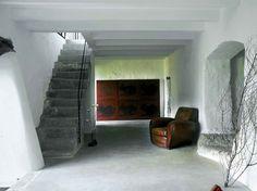 Treppe seitlich