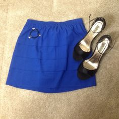 NWT NOM DE PLUME YAYA ROYAL BLUE SKIRT SIZE M Gorgeous NWT Royal blue skirt from Urban Outfitters. Never worn. So cute! Urban Outfitters Skirts