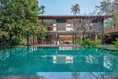 Villa, Outdoor Decor, Beautiful Interiors, Square Feet, Acre, Greenery, Brick, Real Estate, Tours
