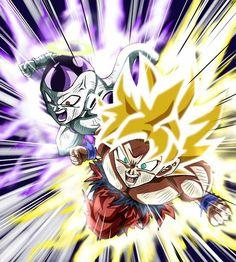Frieza and Goku Team Work