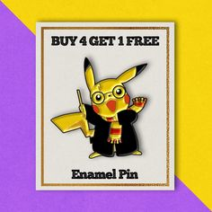 Pikachu Pins Harry Potter Pins Enamel Pins Funny Pins Backpack Pins Badge  Pins Set Lapel Pins 9fe49432bc86
