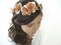 Fall Head Wreath by BowSweet