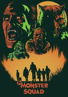 Tonights film for the 31 nights of terror Horror Icons, Horror Movie Posters, Movie Poster Art, Horror Art, Disney Horror, Monster Squad, Monster Art, Rock Poster, Horror Monsters