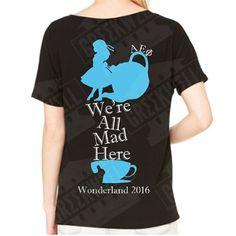 Alpha Epsilon Phi Wonderland V-Neck – Greekwell