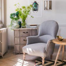 The Alfred Checked Armchair