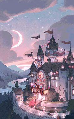 New fantasy art wallpaper artworks ideas Kawaii Wallpaper, Pastel Wallpaper, Cartoon Wallpaper, Disney Wallpaper, Nature Wallpaper, Anime Scenery Wallpaper, Drawing Wallpaper, Wallpaper Space, Fantasy Kunst