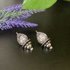 Indian jewelry Oxidized Silver Handmade Women earrings /Tribal jewelry /Jhumka Jhumki Earrings / Stud Earrings / Indian Jumkas Jhumki Earrings, Bridal Earrings, Stud Earrings, Tribal Jewelry, Indian Jewelry, Silver Jhumkas, Gold Finger Rings, Bollywood Jewelry, Imitation Jewelry