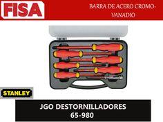 JGO DESTORNILLADORES 65-980. Barra de acero cromo- vanadio- FERRETERIA INDUSTRIAL -FISA S.A.S Carrera 25 # 17 - 64 Teléfono: 201 05 55 www.fisa.com.co/ Twitter:@FISA_Colombia Facebook: Ferreteria Industrial FISA Colombia