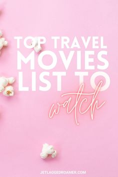 Who says you have to leave your couch to travel around the world? Here I have the best travel movie list to spark your wanderlust. Best Travel Apps, Europe Travel Guide, Travel Hacks, Travel Packing, Asia Travel, Travel Usa, Travel Guides, Travel Tips, Travel Movies
