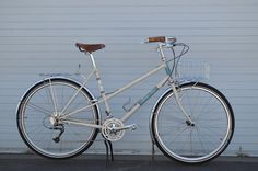 The Betty Foy bike frame, Rivendell Bicycle Works. It's not a Pilen, but I suppose its ok.