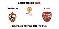 Prediksi CSKA Moscow vs Arsenal 13 April 2018