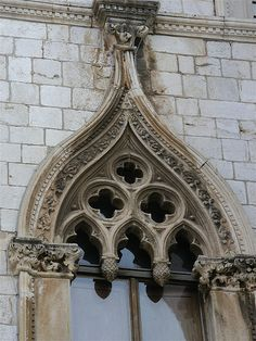 Ornate Gothic Window