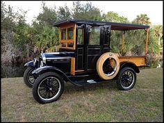 SUPER SWEET! 1926 Ford Model T Huckster #MecumKissimmee