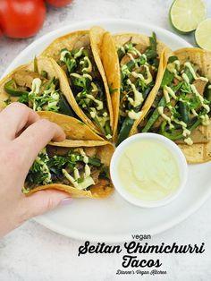 Vegan Seitan Recipe, Seitan Recipes, Vegan Cheese Recipes, Vegan Mexican Recipes, Vegetarian Mexican, Vegetarian Tacos, Vegan Tacos, Vegan Breakfast Recipes, Delicious Vegan Recipes