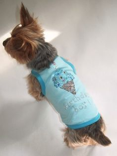 The Dog Squad Birthday Tank T Shirt To Celebrate Your Dogs Big Day In
