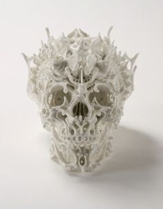 Ceramic Skulls by Katsuyo Aoki by toybot studios, via Flickr