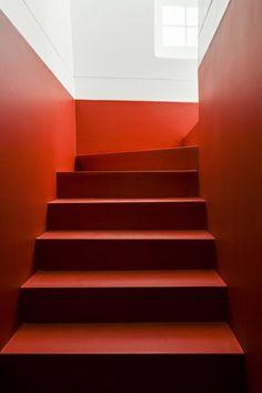 CASA DA SEVERA - Lisbon, Portugal - 2012 - José Adrião Architects #staircase #architecture