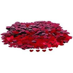 Making yourloved one dinner? Decorate the table - Confetti - Small Red Hearts by CSC Imports £1.49 - The Wedding Gift Company
