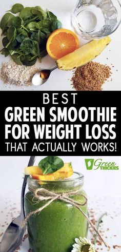 This is the best green smoothie for weight loss because it actually works. It also tastes delicious. Great for an easy detox, cleanse and increased energy. Contains natural protein. Click the link to find out why it works so well. Easy Green Smoothie Recipes, Green Detox Smoothie, Healthy Green Smoothies, Good Smoothies, Smoothie Diet, Healthy Drinks, Fruit Smoothies, Smoothie Benefits, Healthy Food