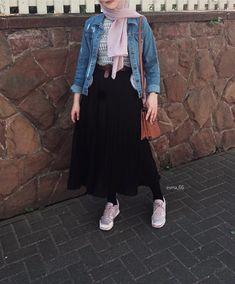 Pinterest: just4girls Modest Fashion Hijab, Modern Hijab Fashion, Street Hijab Fashion, Modesty Fashion, Casual Hijab Outfit, Islamic Fashion, Muslim Fashion, Fashion Outfits, Fashion Ideas