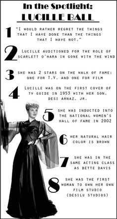 Lucille Ball was awesome