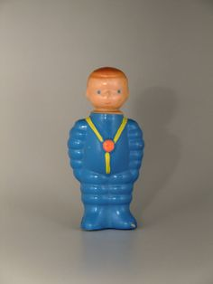 Libuse Niklova Plastic Squeaky Doll Toy Spaceman Astronaut Cosmonaut by VintageRetroEu on Etsy