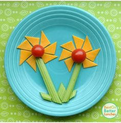 Take some time to smell the flowers... with funbites and bentonbetterlunches