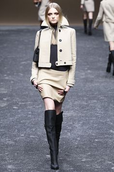 Blumarine Spring 2012, The jacket makes it look so chic!