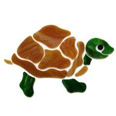 Turtle Pre-Cut Stepping Stone Kit - Glass Pre Cuts - Studio One